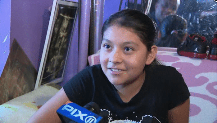 12-year-old girl fights off attacker by kicking his privates