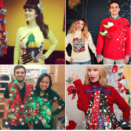 12 cheap and easy ugly christmas sweater diys - Ugly Christmas Sweaters Cheap