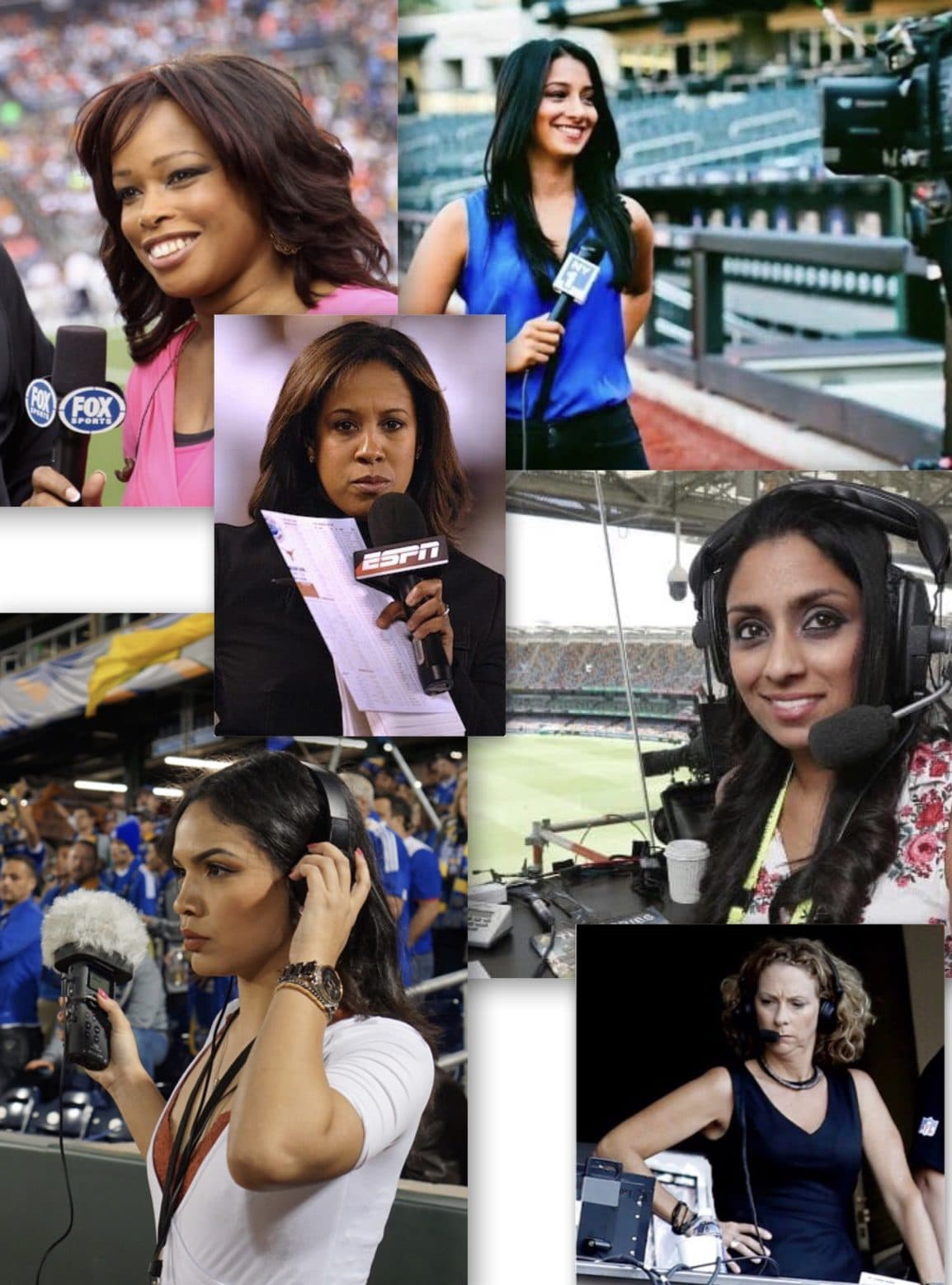 I am A Female Sports Journalist
