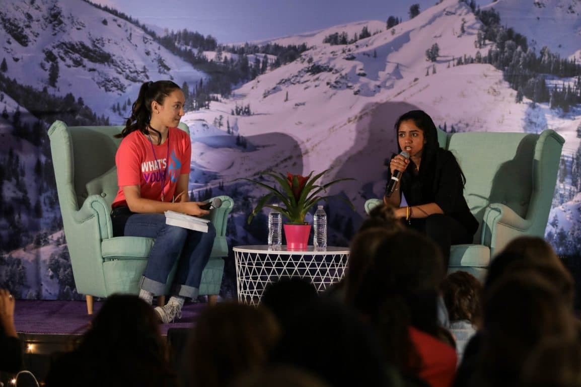 Interview with Allie and Sonita