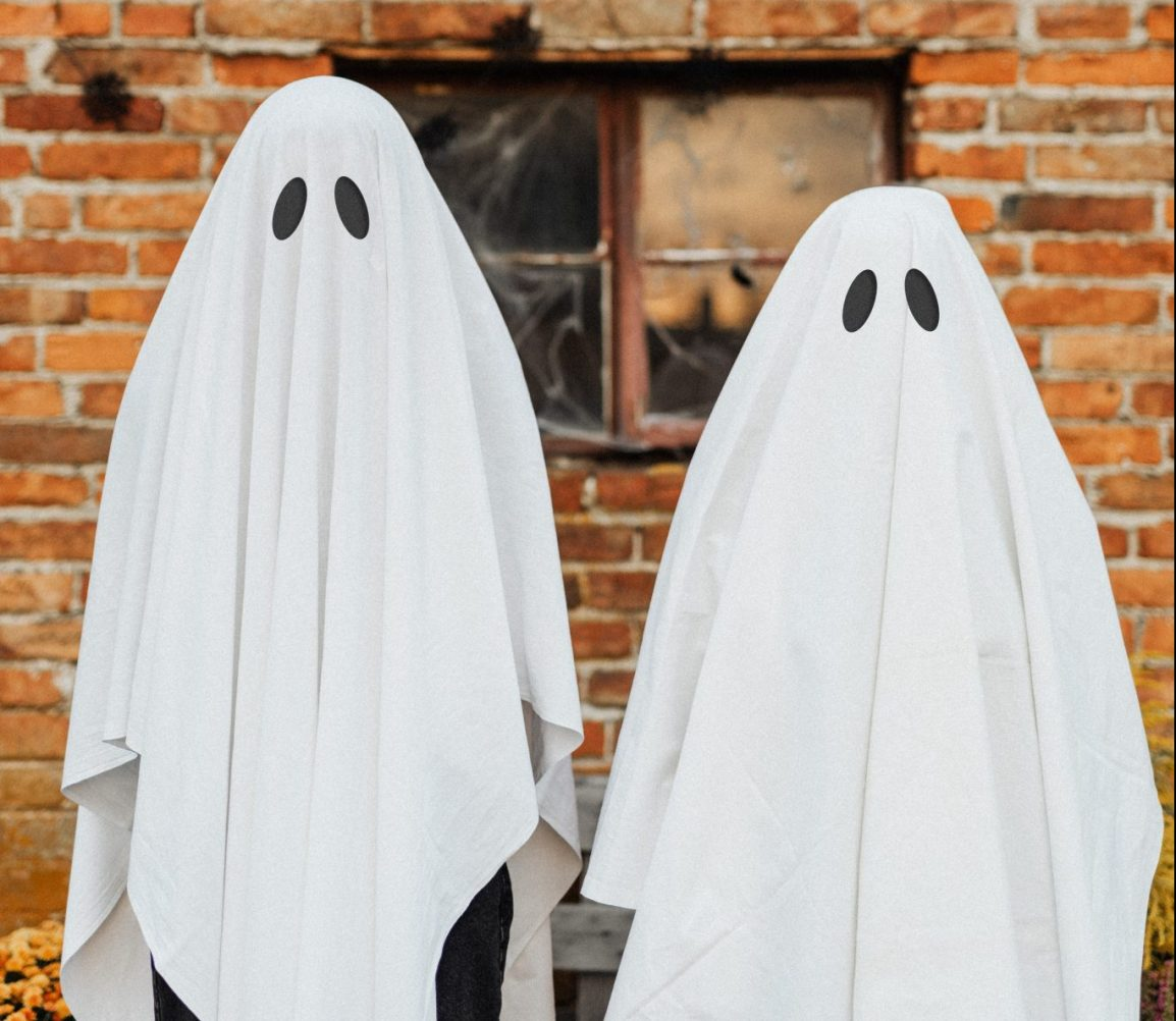 ghosts in sheets