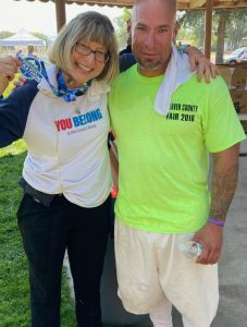Marathon runner and inmate