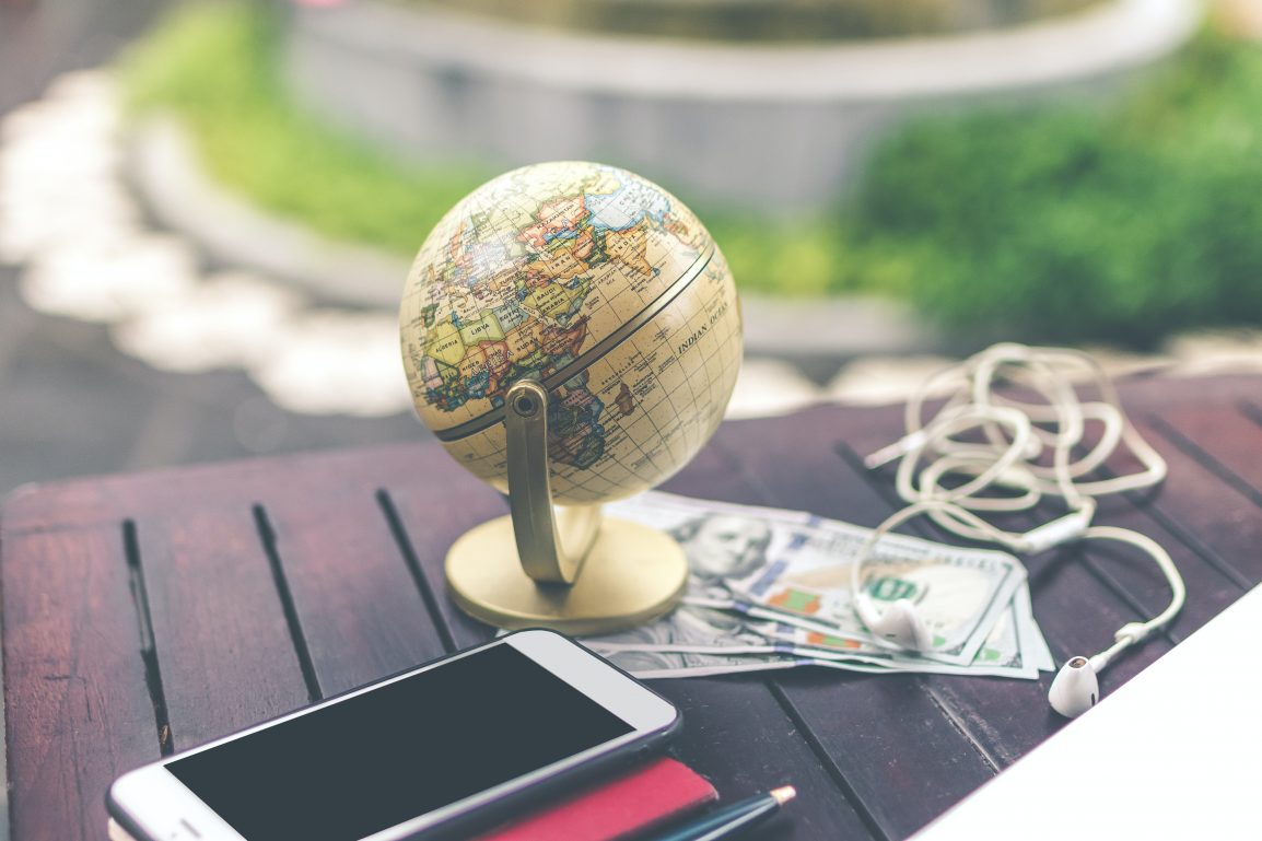 money around the globe
