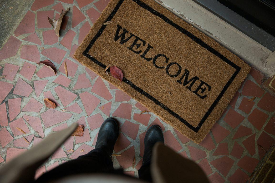 Welcome Mat By Andrew Neel