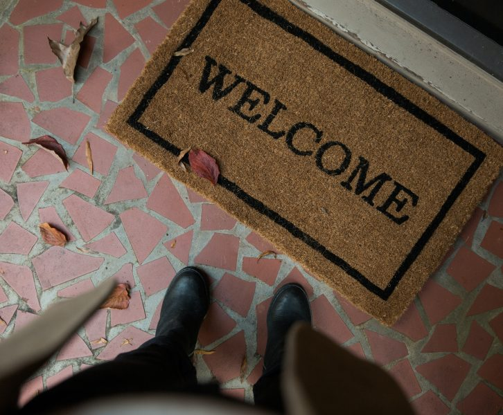Welcome Mat By Andrew Neel
