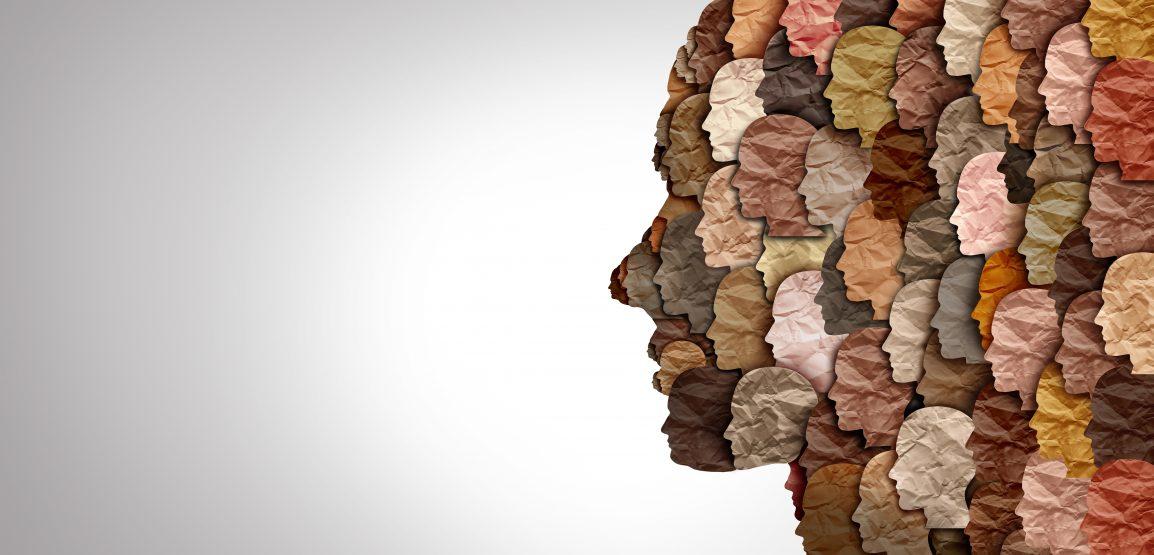 multi skin tone faces