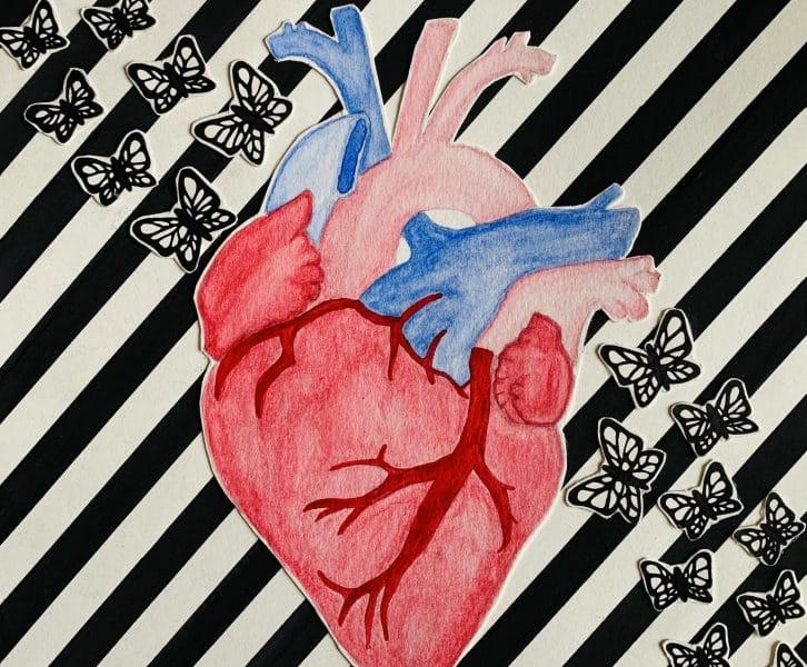 Flourishing Heart Original Artwork Girlspring