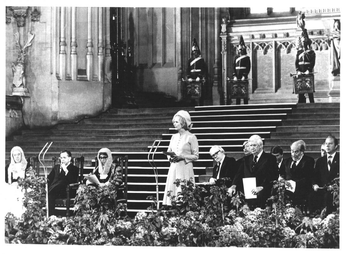 Margaret Thatcher in The Crown GirlSpring