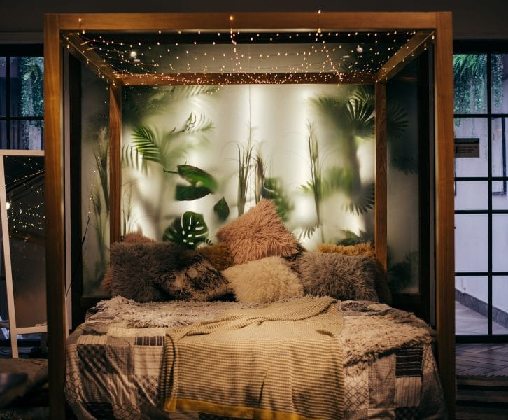 bedroom on a budget